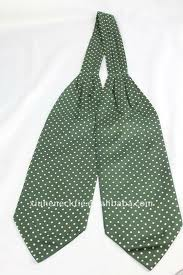 The Ascot tie (also known as Cravat, Day Cravat, or simply Ascot) (1/4)