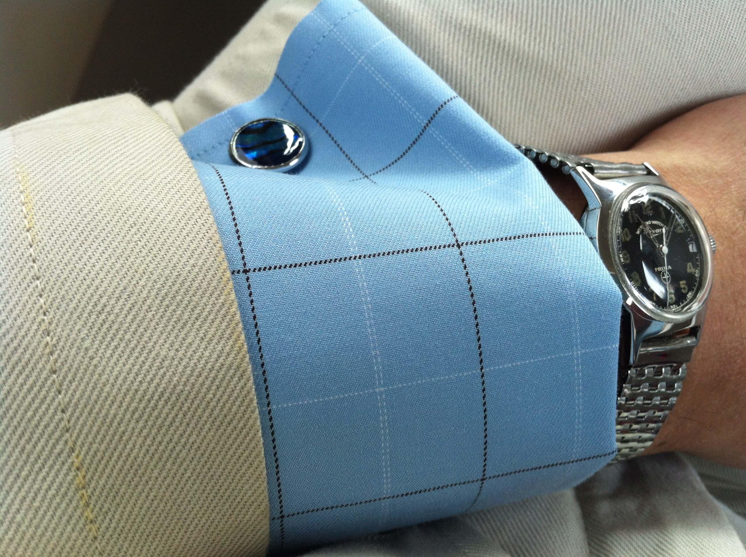 Question wedding gift help watches for Can you wear cufflinks on a regular shirt