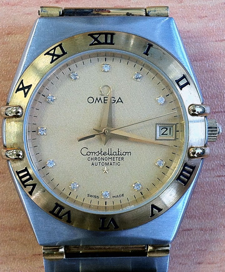 Omega Constellation Chronometer Automatic Date