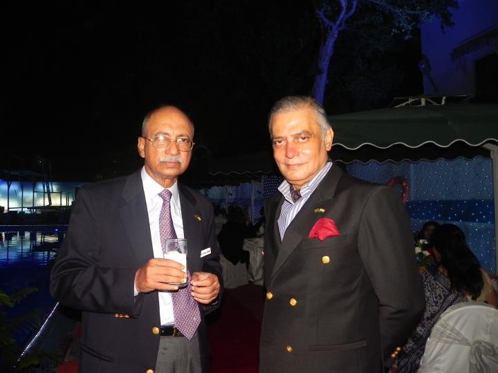 Maj Gen (Retd) Abu Kaiser Fazlur Rahman and I