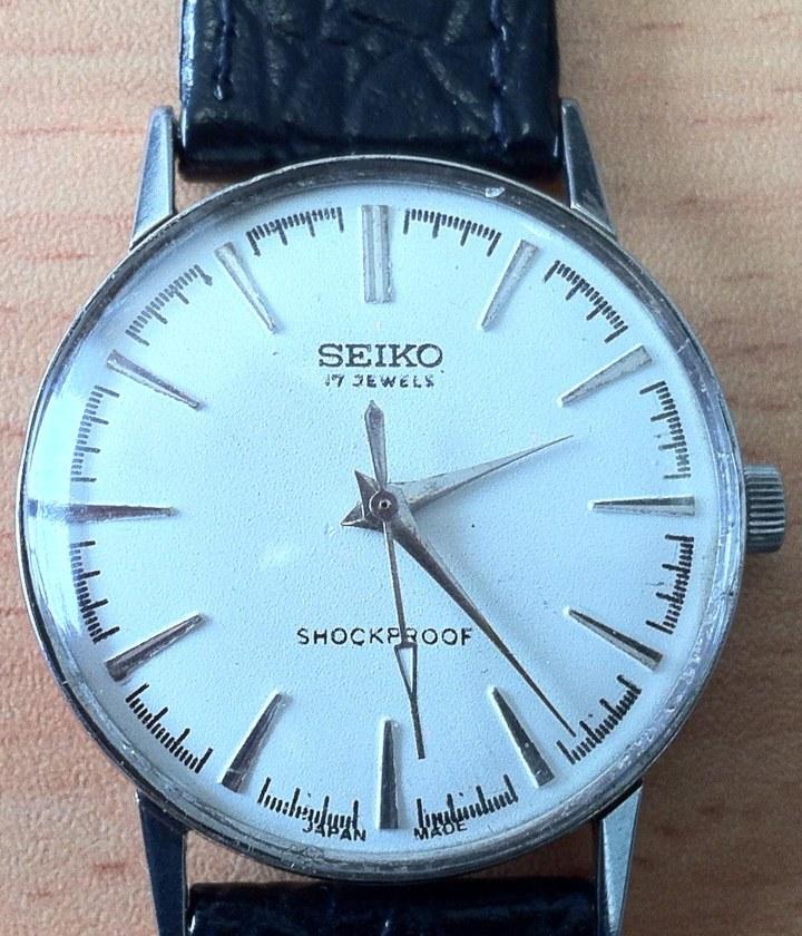 Seikosha Shockproof manual winding watch