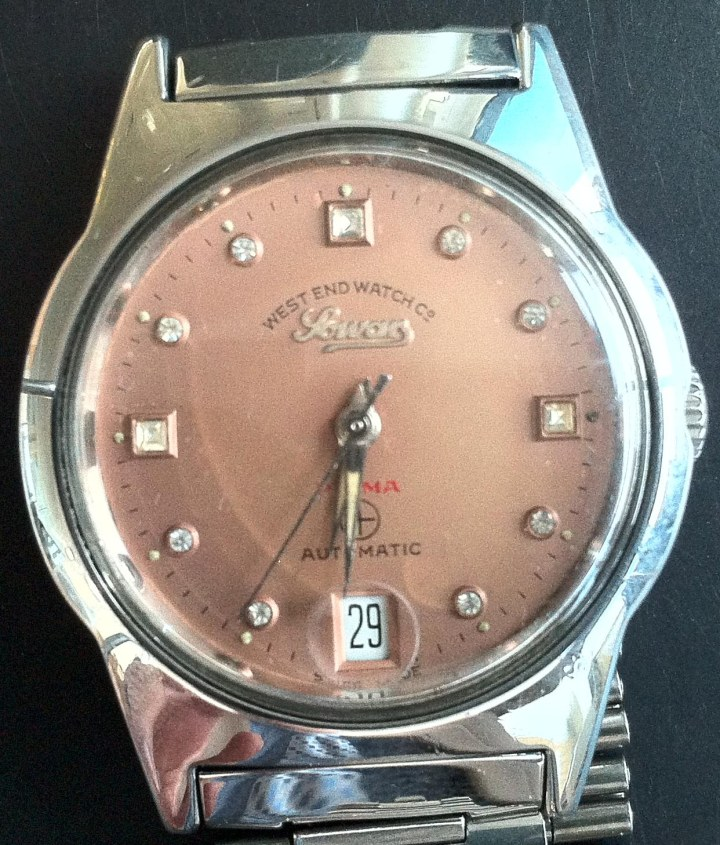West End Watch Company Sowar Prima Automatic Peach Dial Date at 6