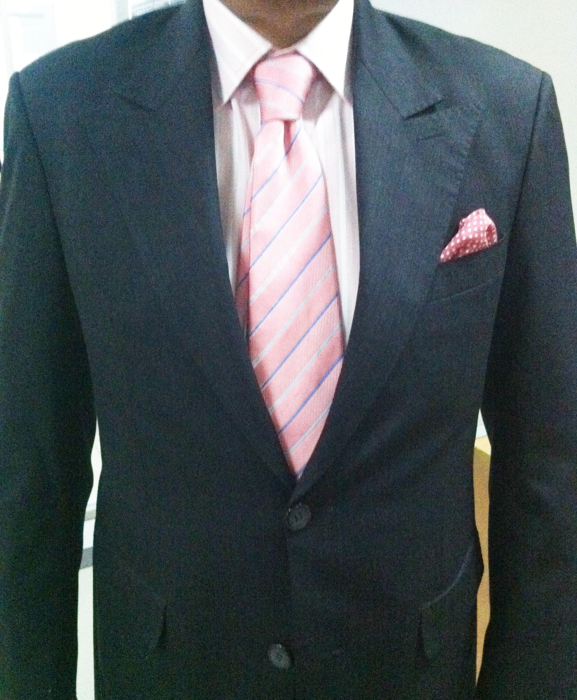 Pink Oxford Shirt Men