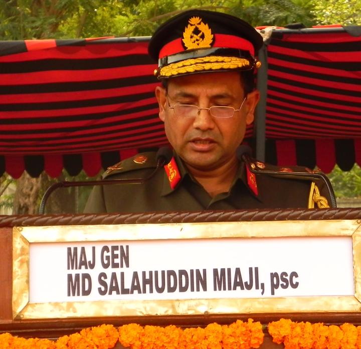 Maj Gen Salahuddin Miaji