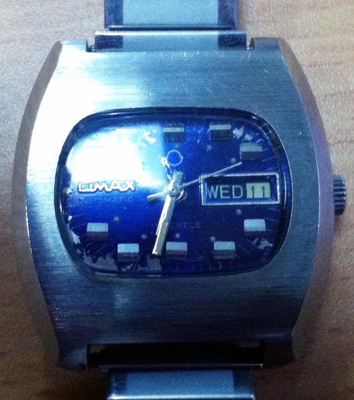 Omax Automatic day date stainless steel