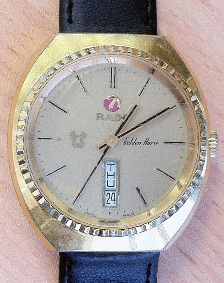 Rado Golden Horse Gold Plated Automatic Day Date at 6