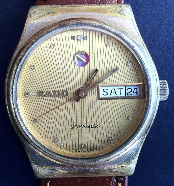 Rado Voyager Automatic Gold Plated Day and Date