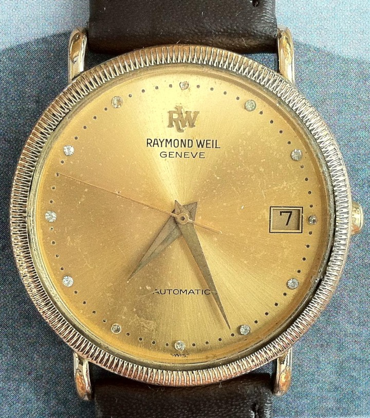 Raymond Weil Geneve automatic Gold Plated 2892-2