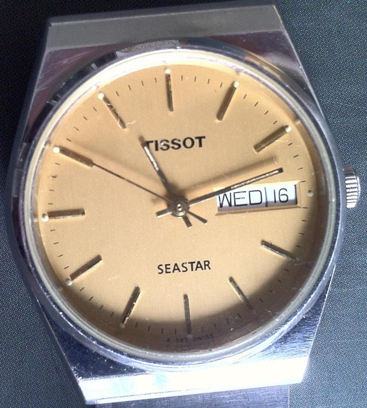 Tissot Seastar Automatic Day Date Stainless Steel Bracelet