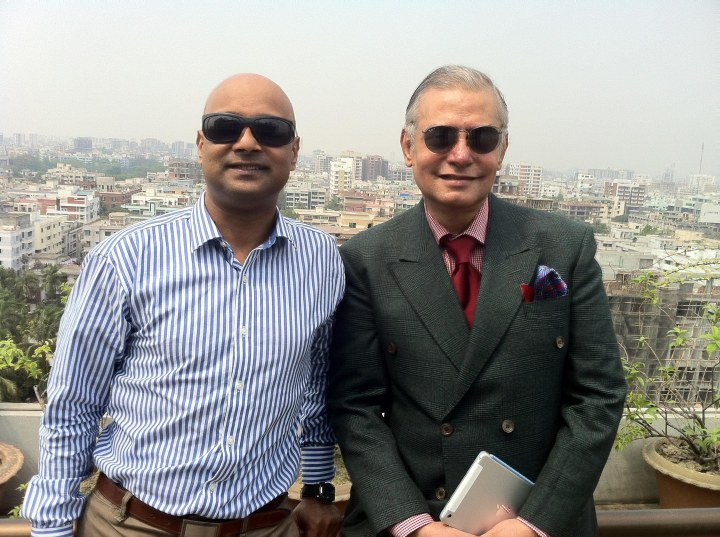 With Manjur Mahmud, CEO, Datasoft Ltd., after the seminar
