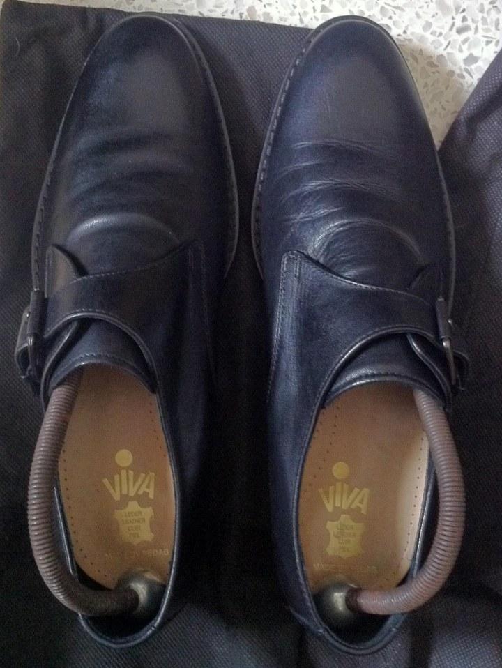 Black monk rubber sole VIVA