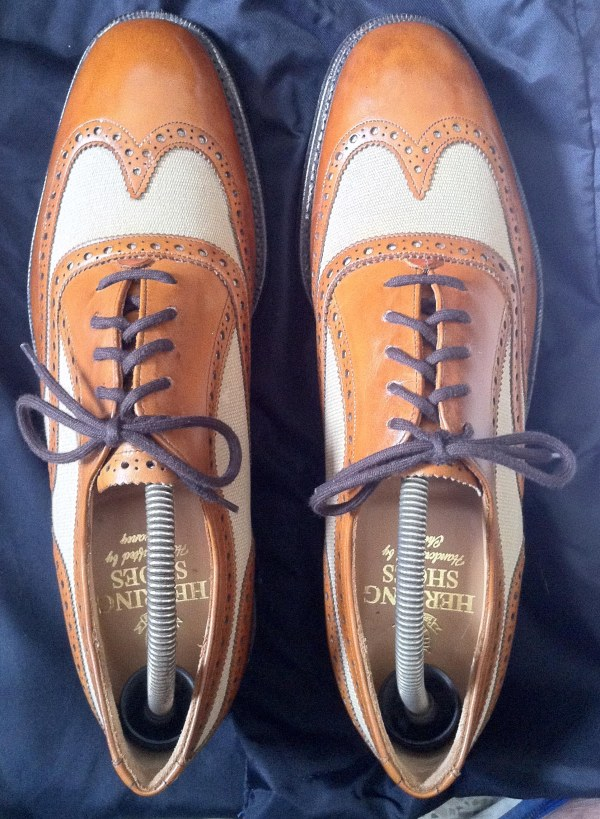 Brown Tan Correspondent Shoes