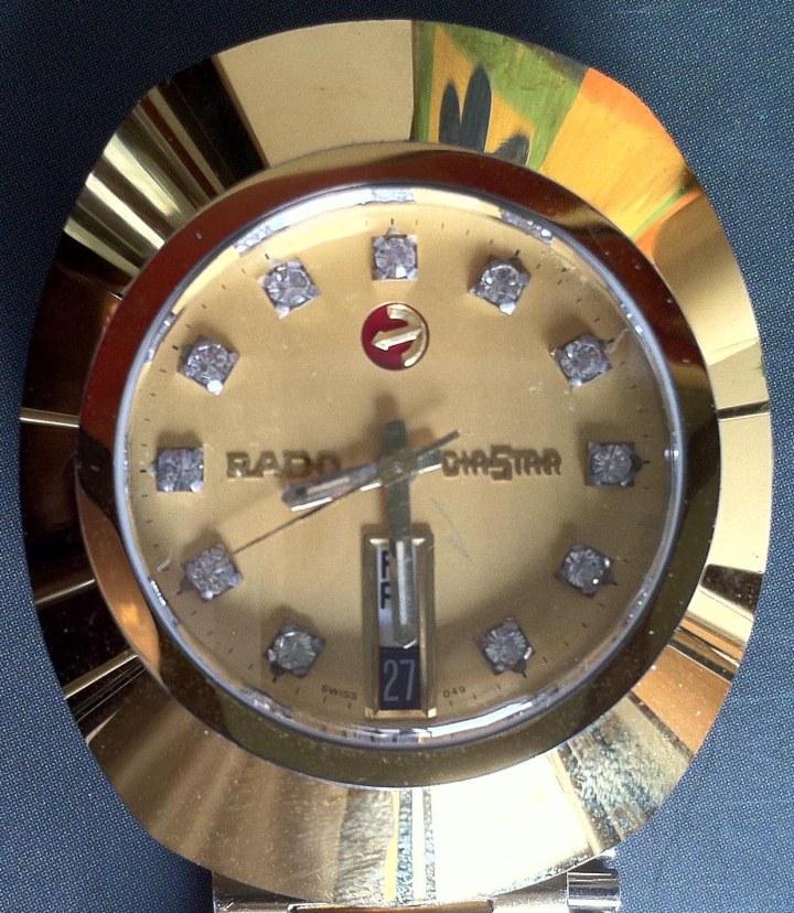 Rado Diastar Gold