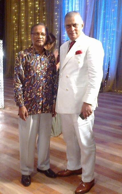 with Babu bhai