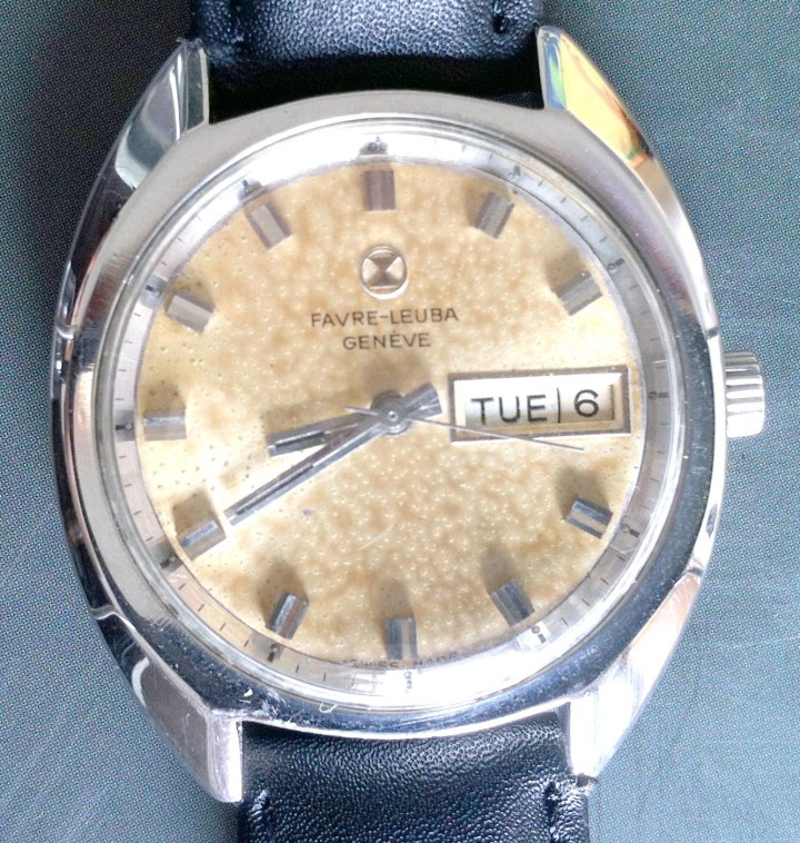 Favre Leuba Geneve Automatic with day date