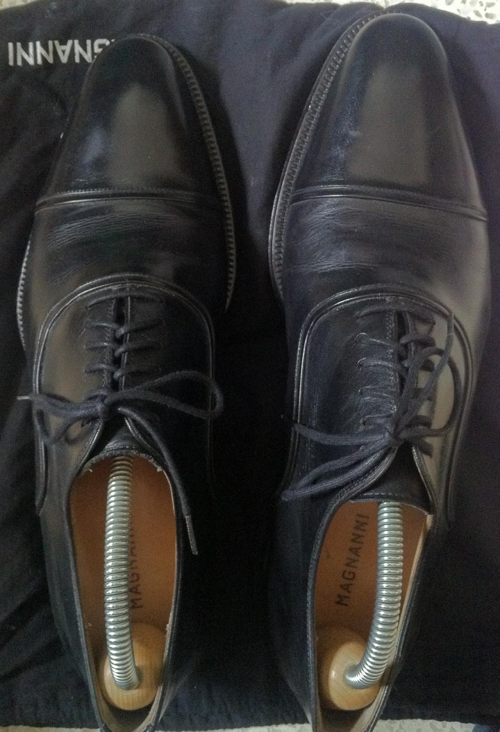 Black Oxford Magnanni