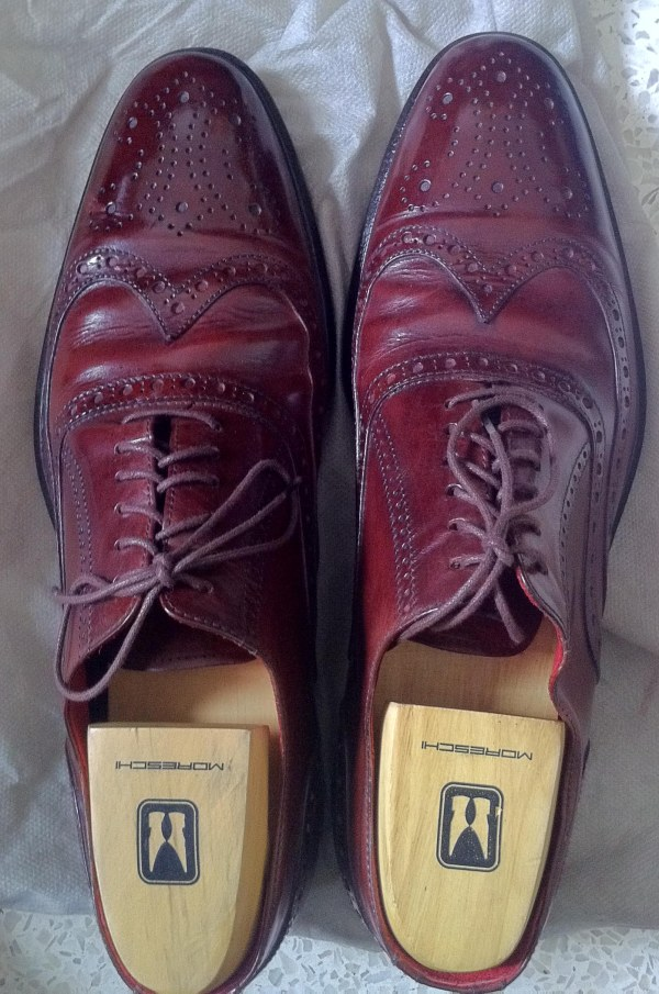 Brown Red Wingtip