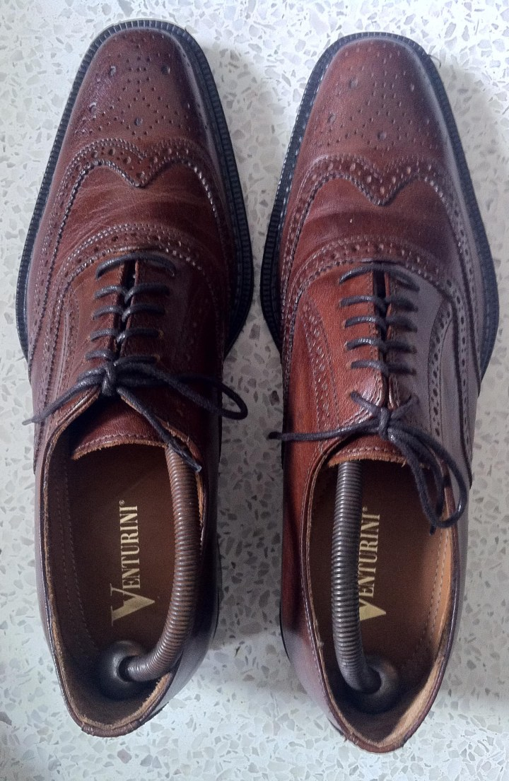 Brown Wingtip Oxford