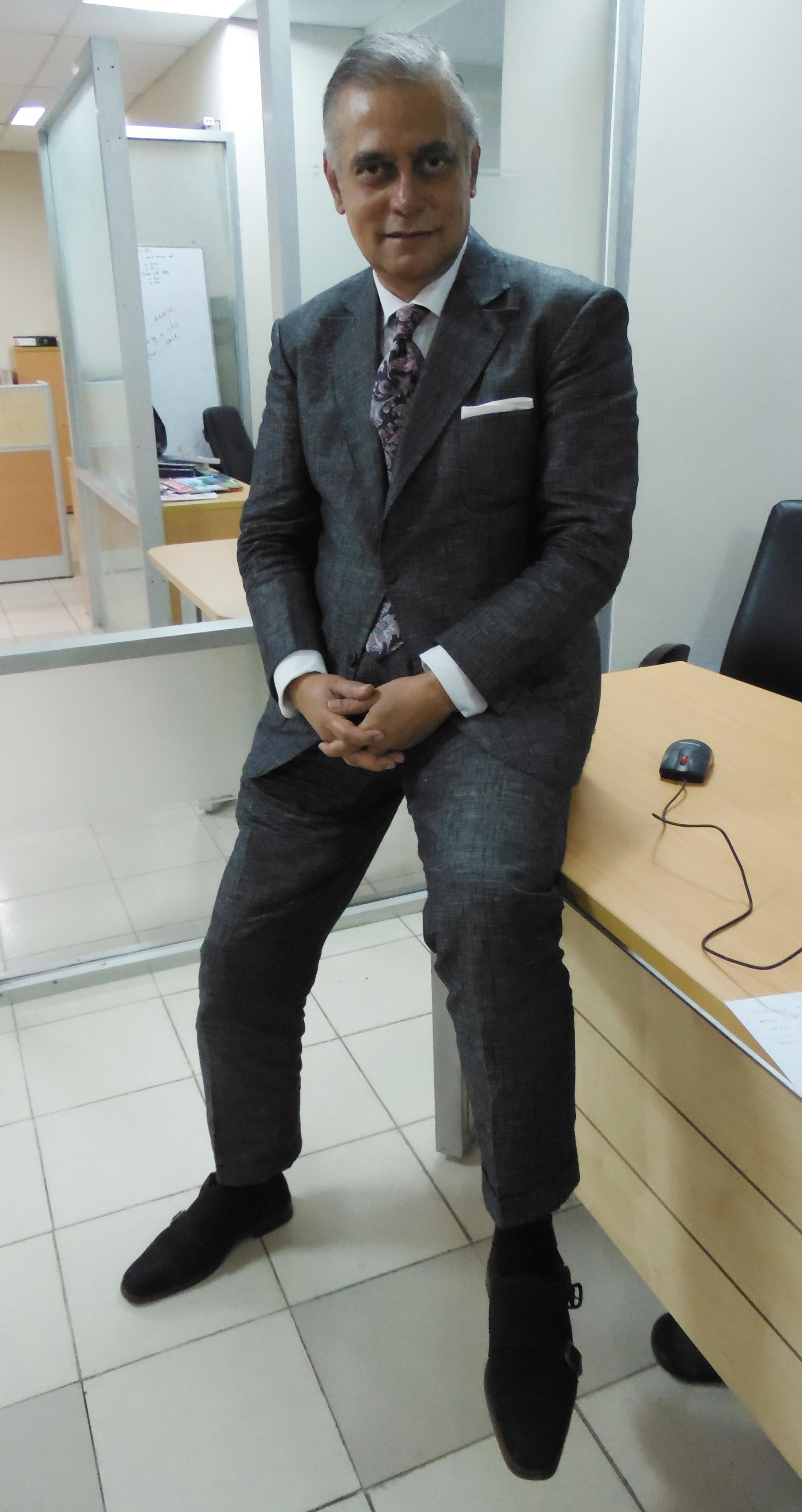 Black Suit With Brown Suede Shoes