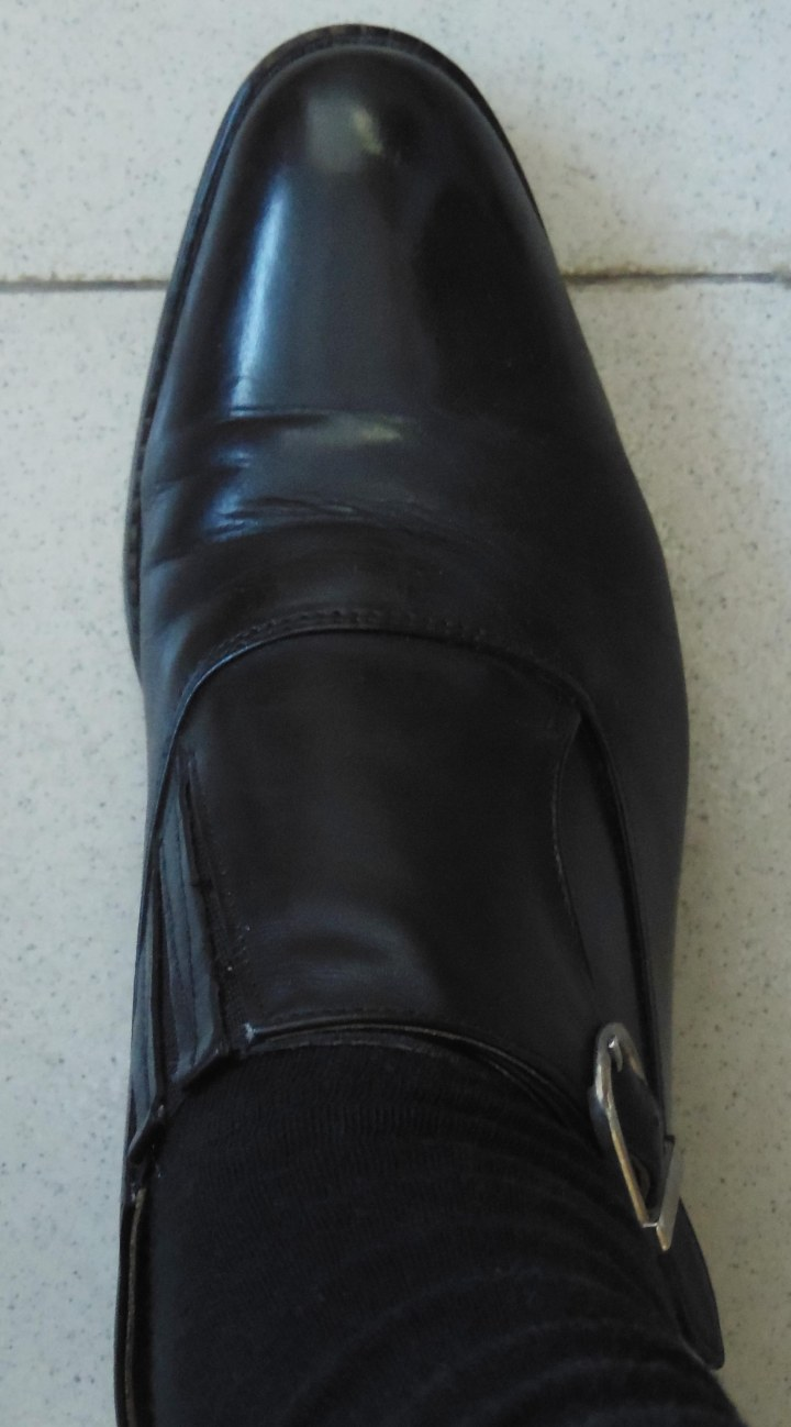 Black Monk Shoes