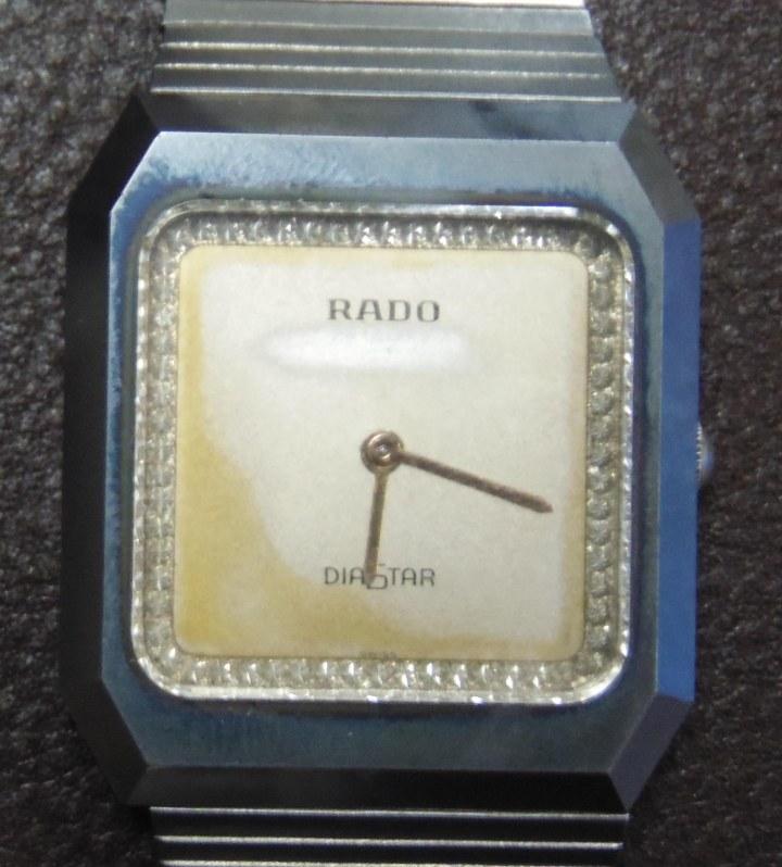 Rado Diastar manual winding stainless steel
