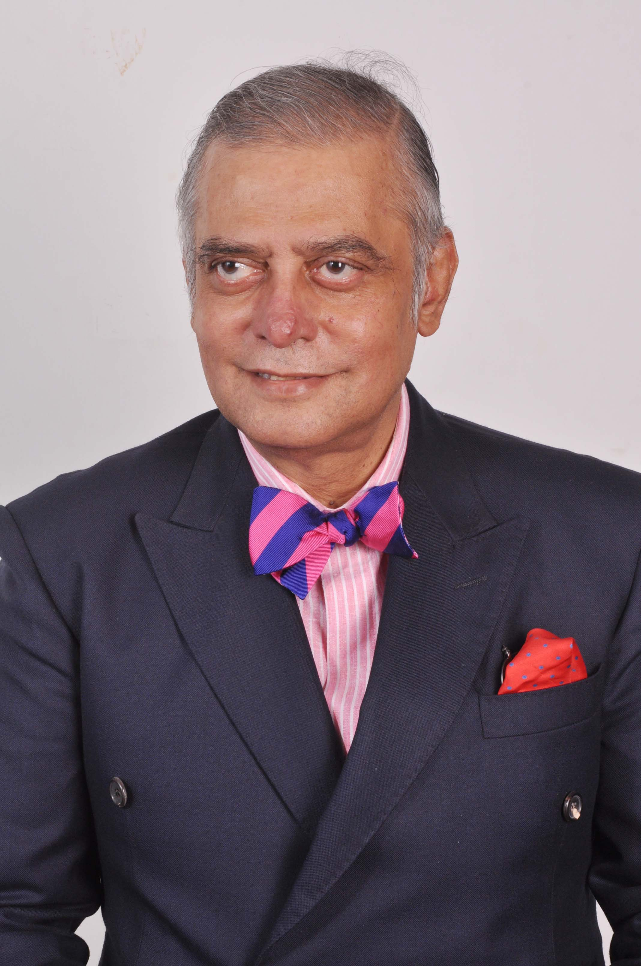 pink and blue striped silk bow-tie – This is a blog about men's style
