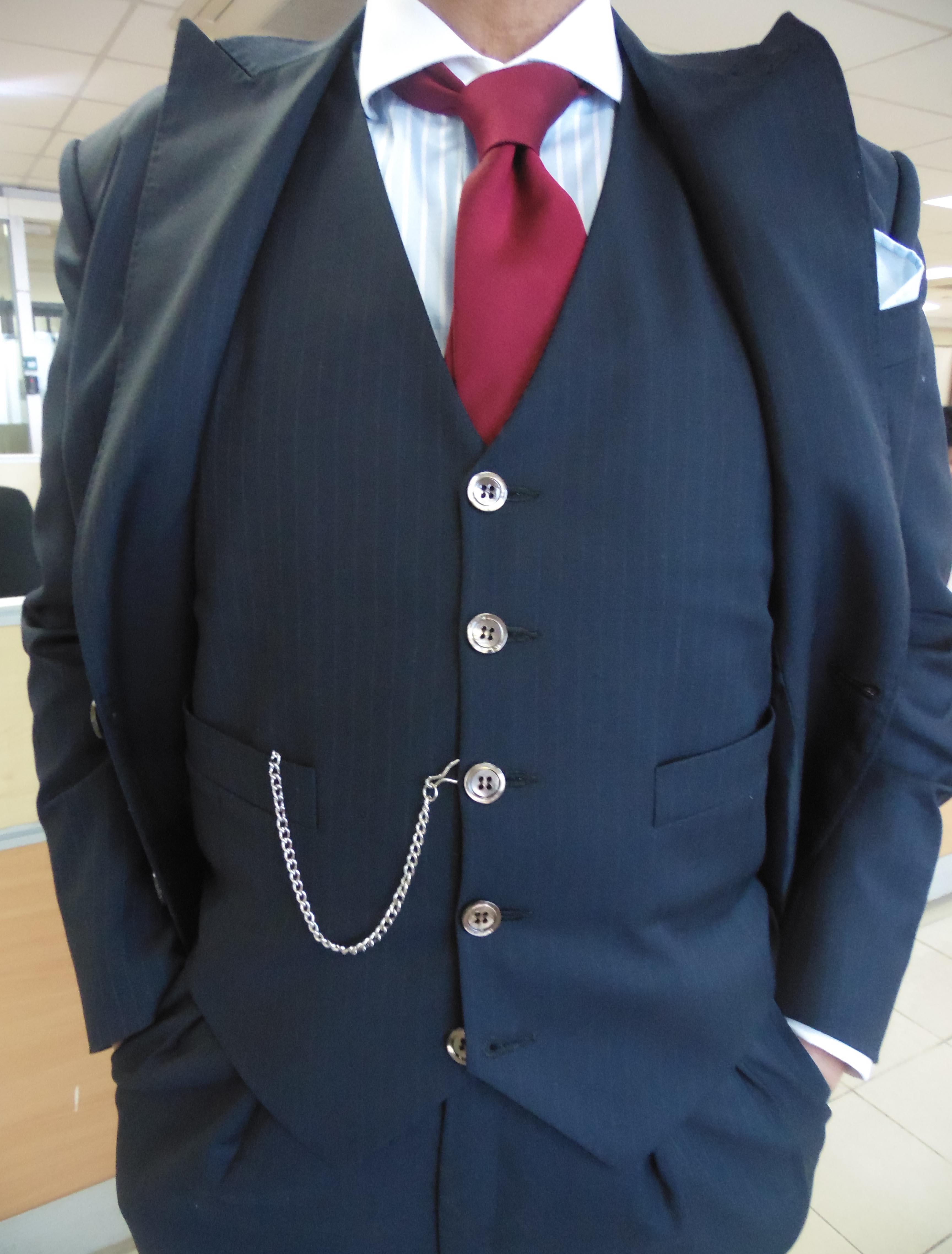 Watch pocket how to wear