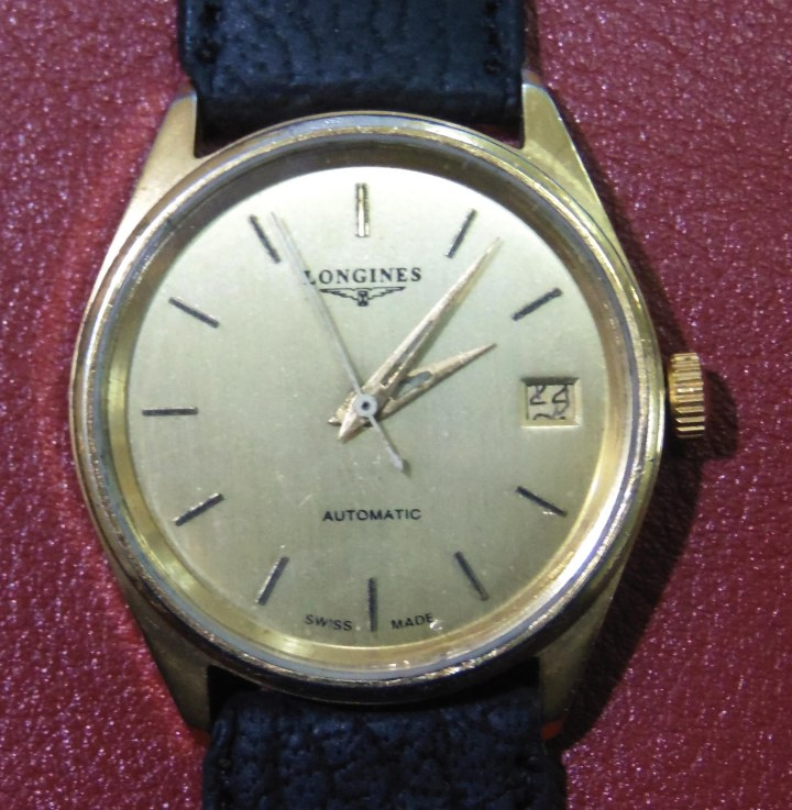 Longines Automatic 20 Micron gold plated watch