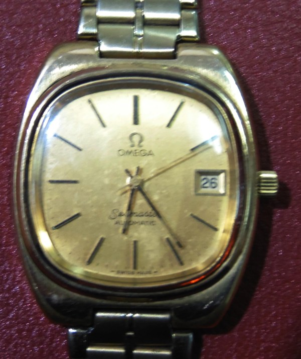 Omega Seamaster Automatic goldplated