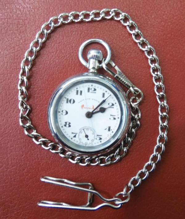 West End Watch Company Queen Anne pocket watch