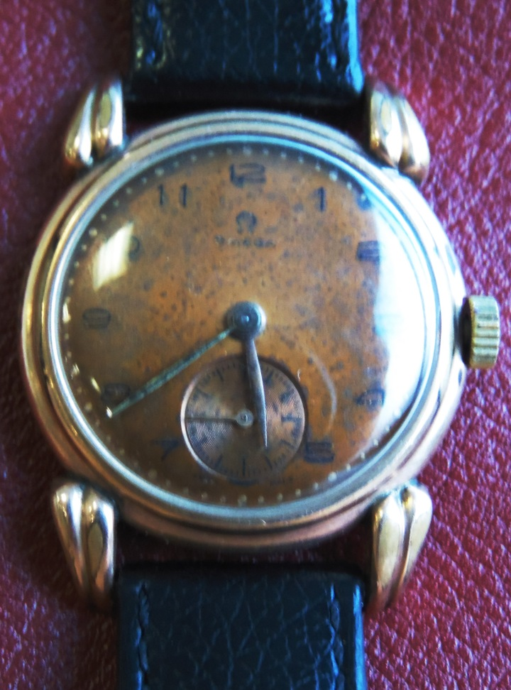 Omega Manual Winding Gold-plated 1947 vintage