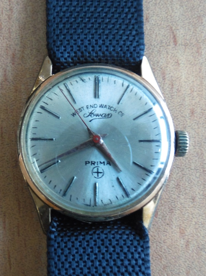 West End Watch Company Sowar Prima gold-plated manual winding