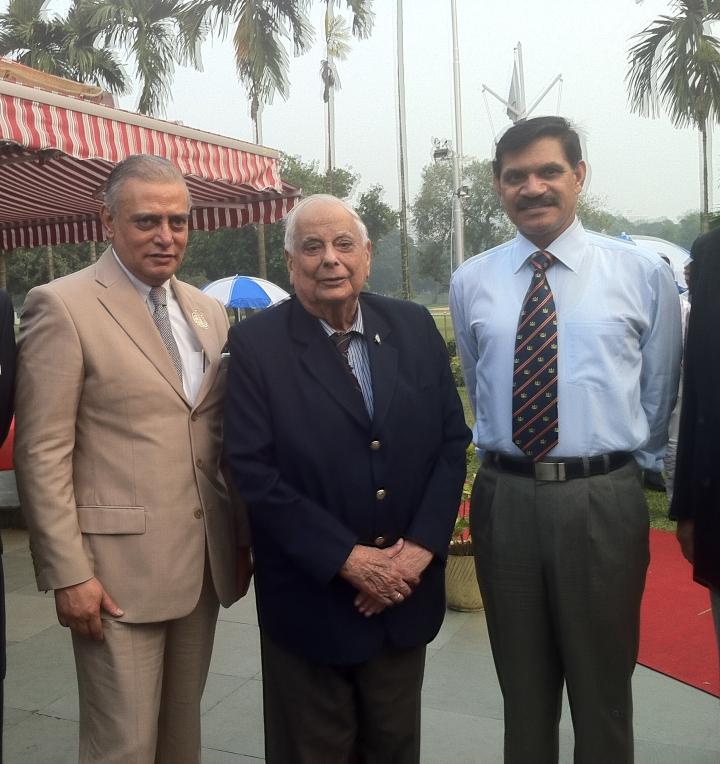 Shahzaman Mozumder, Lt. Gen. J.F.R. Jakob and Lt Gen Dalbir Singh Suhag