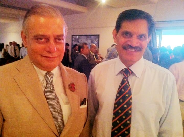 With Lt Gen Dalbir Singh Suhag