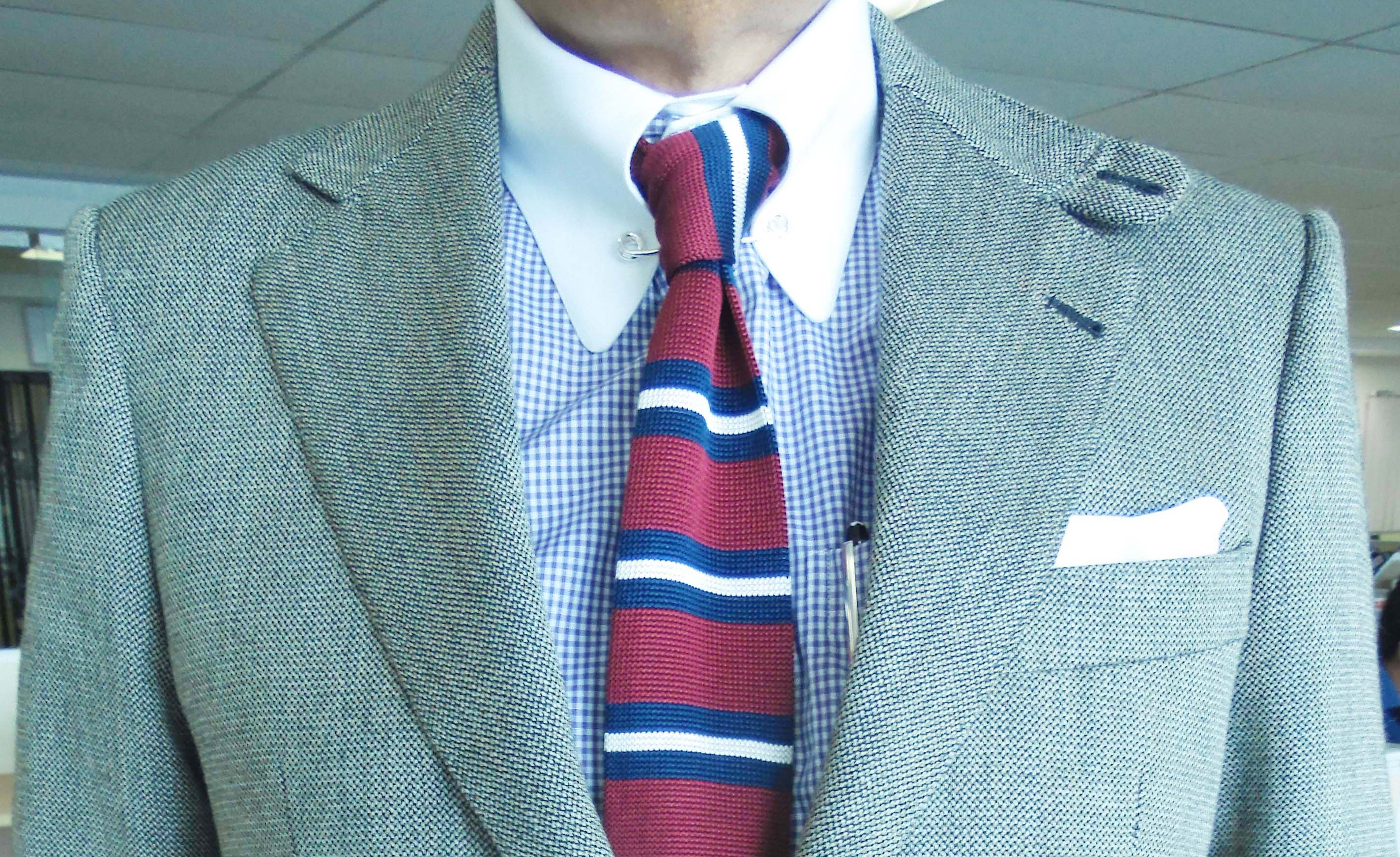 How to use pocket squares this is a blog about men 39 s style for Striped shirt with tie