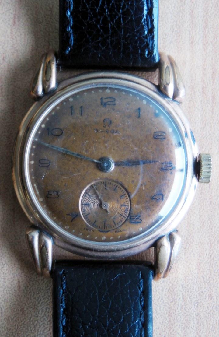Vintage Omega Winding Split-Second