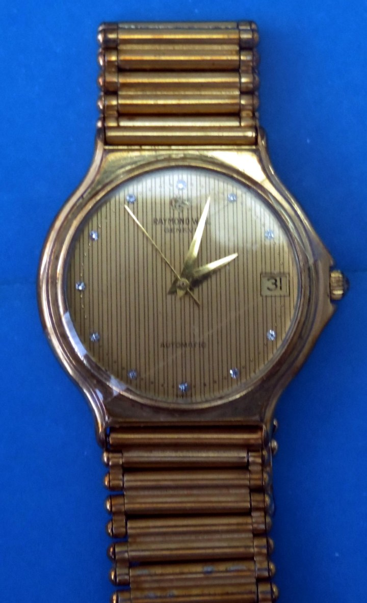 Raymond Weil Geneve gold plated