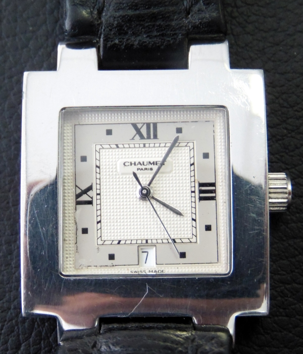 Chaumet stainless steel watch 1