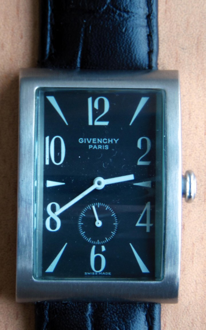 Givanchy wristwatch front
