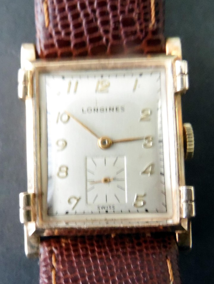 Longines 14k solid gold watch
