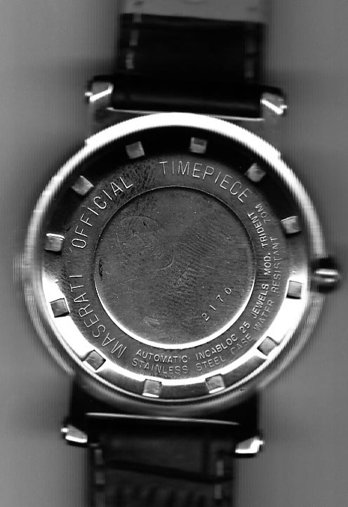 Maserati Offical timepiece Limited edition 01