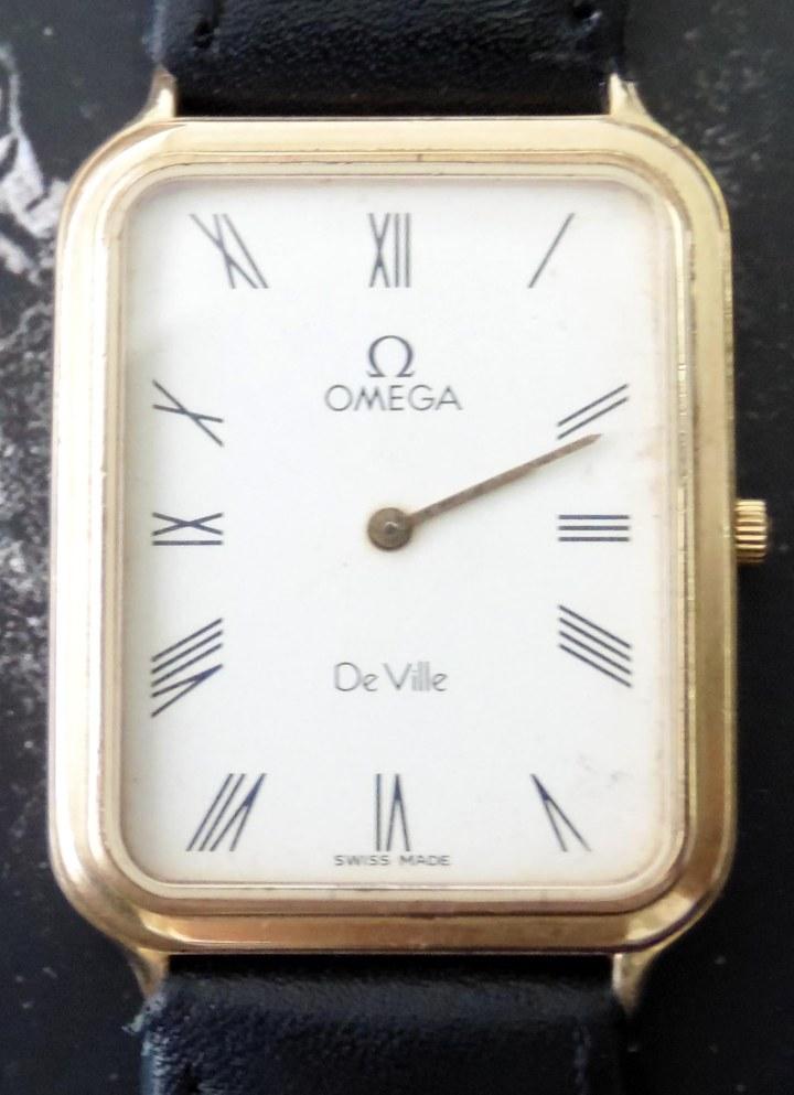 Omega Deville Quartz front 01