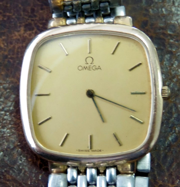 Omega Deville Quartz TV Shaped