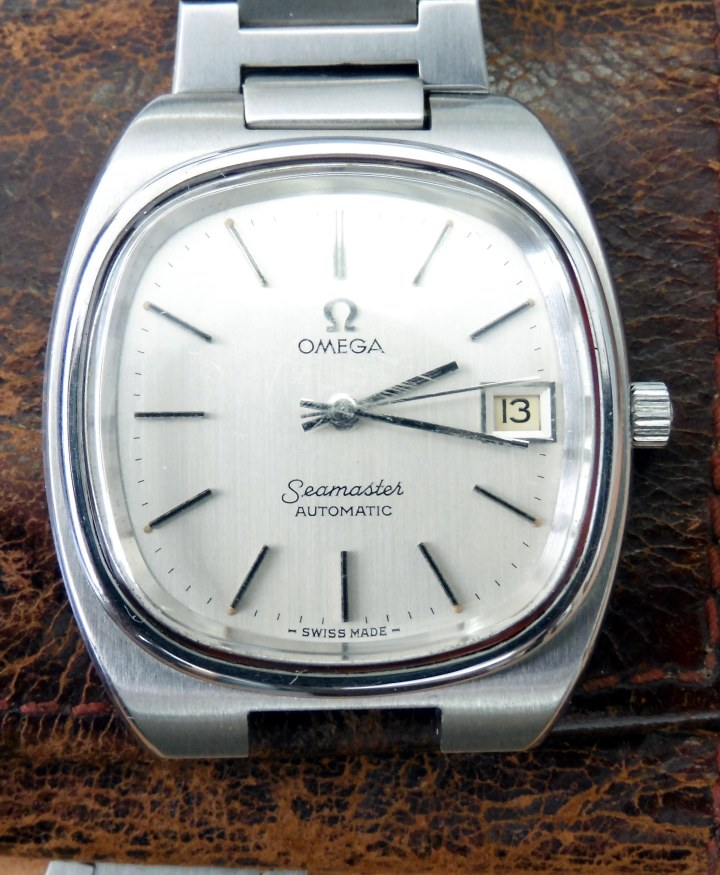 Omega Seamaster Automatic date 1978 front