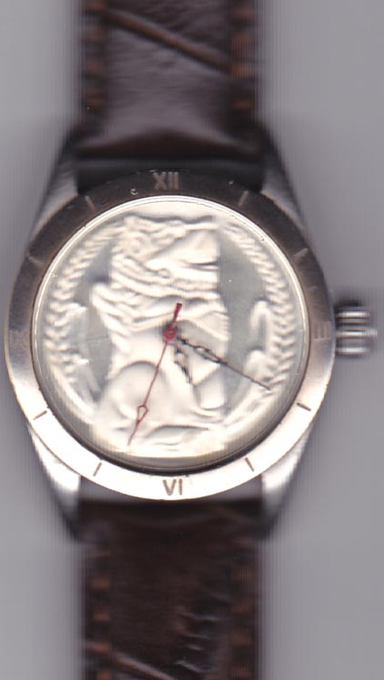 Singapore Mint pure silver watch 02
