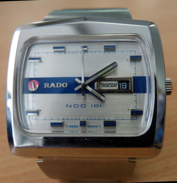 Rado NCC 101 day date automatic