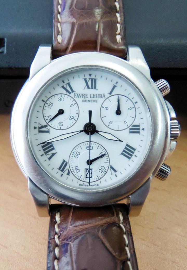Favre Leuba chronograph quartz