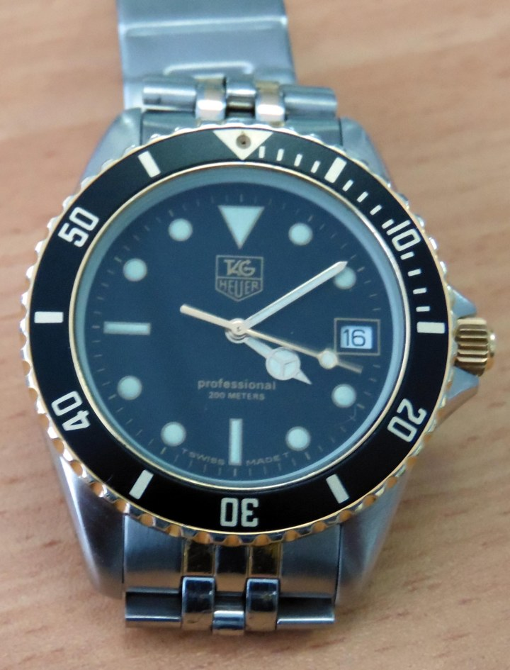 Tag Heuer Precison watch