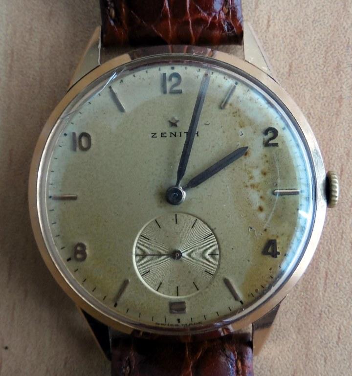 Zenith 18k solid gold watch 1