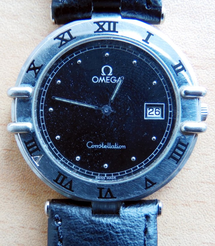 Omega Constellation Date quartz